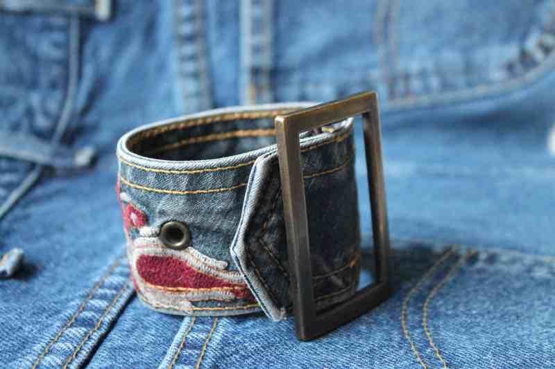 vintage belt bracelet