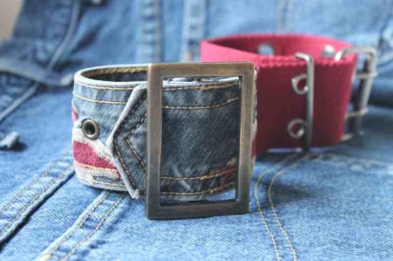 vintage belt bracelets