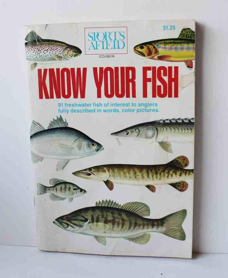 vintage fishing book