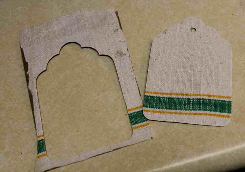 vintage linen tag