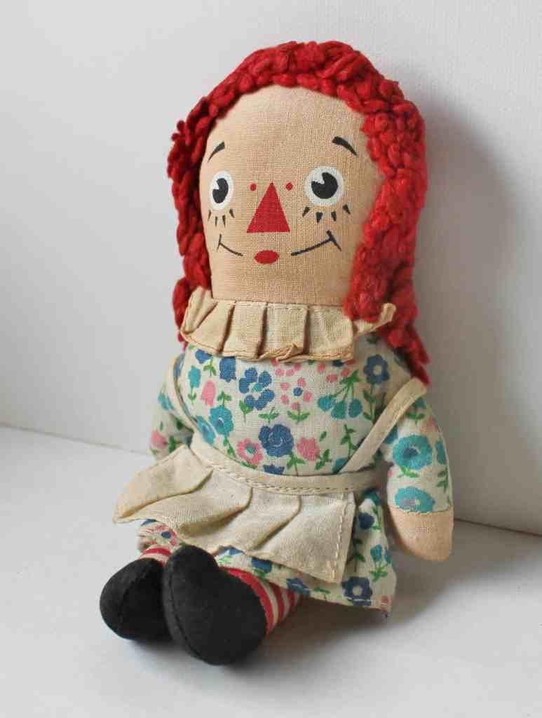 vintage mini raggedy ann