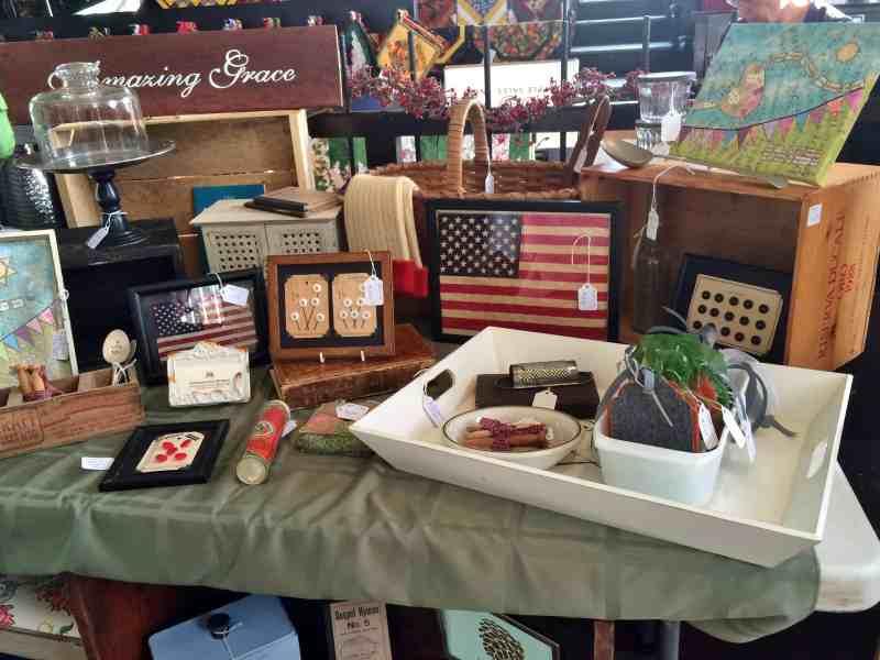 Shaker Heritage Craft Fair set up