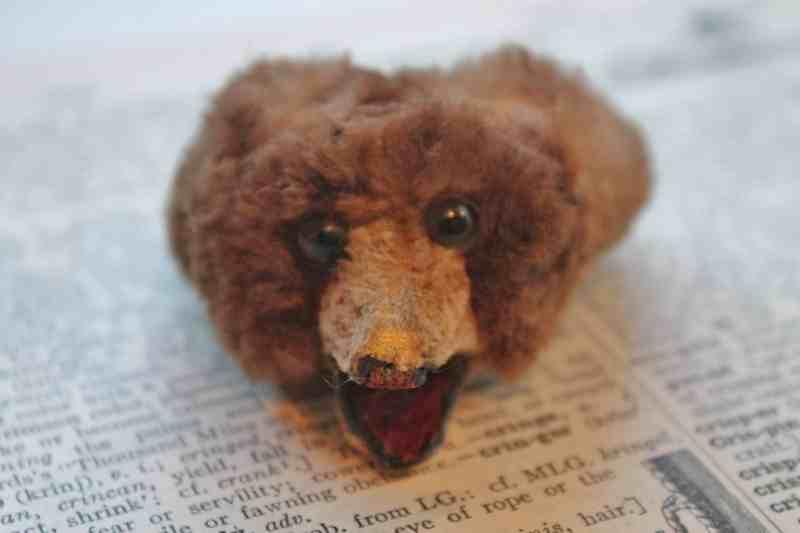 Vintage animal head