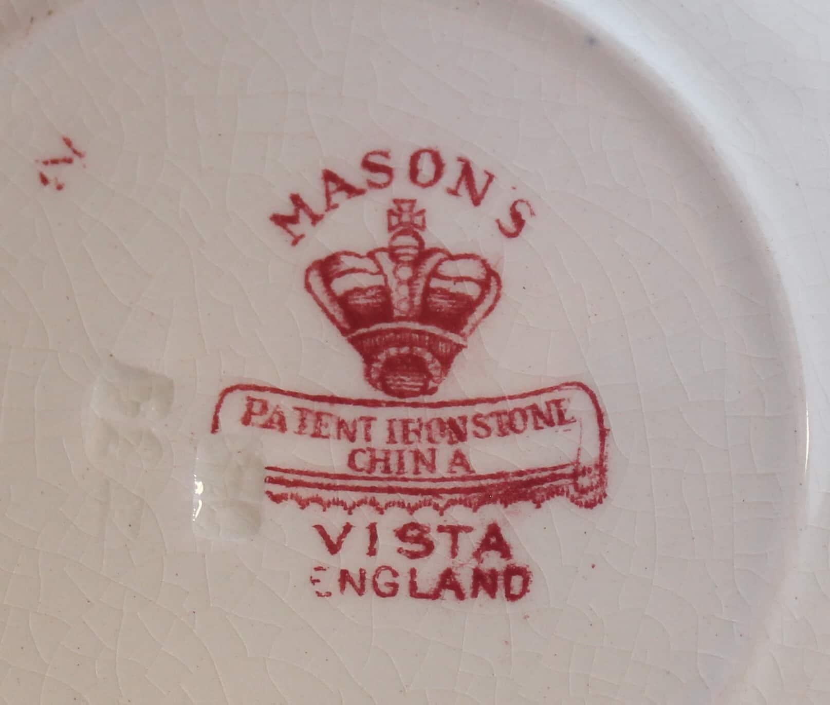 Mason's Pottery mark