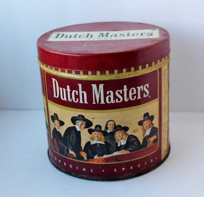 Vintage Dutch Masters Tin
