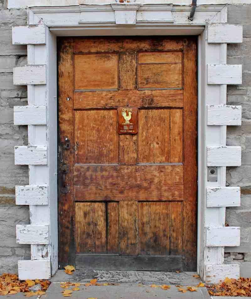 Front Door, Old Stone Fort, Schoharie, NY