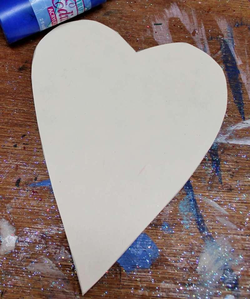 Card Stock Heart