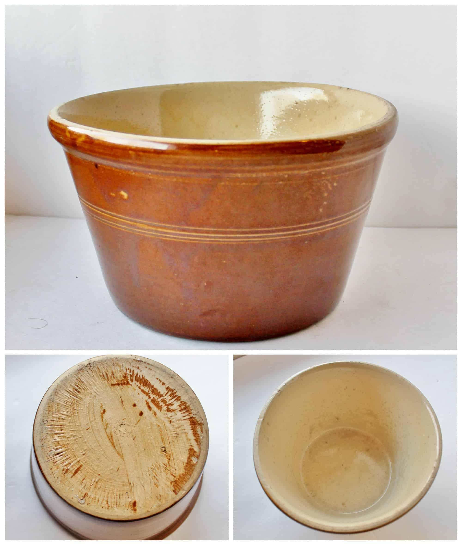 Vintage English Crockery Bowl