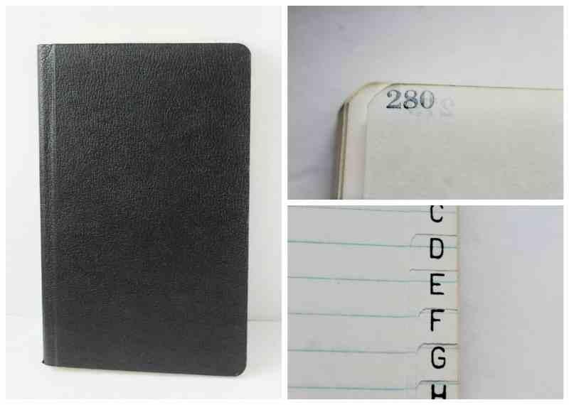 Vintage Journal/Address Book