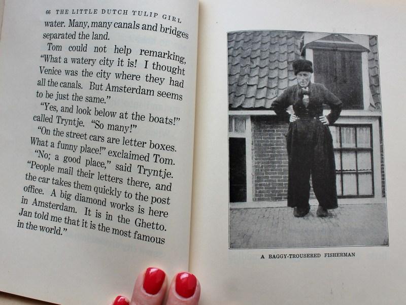 Inside Book, The Little Tulip girl, c.1927
