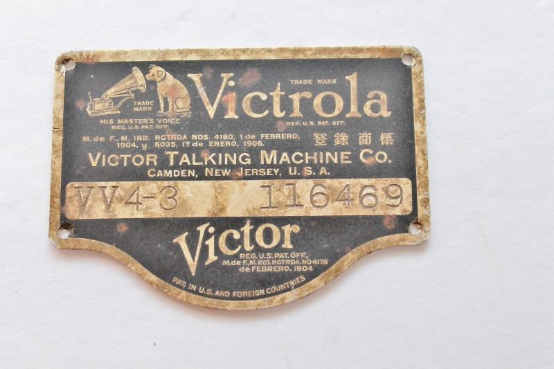 Victor Victrola Brass Label