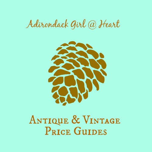 Adirondack Girl @ Heart Vintage and Antiques Price Guide button