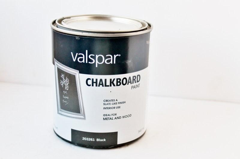 Valspar Chalkboard Paint