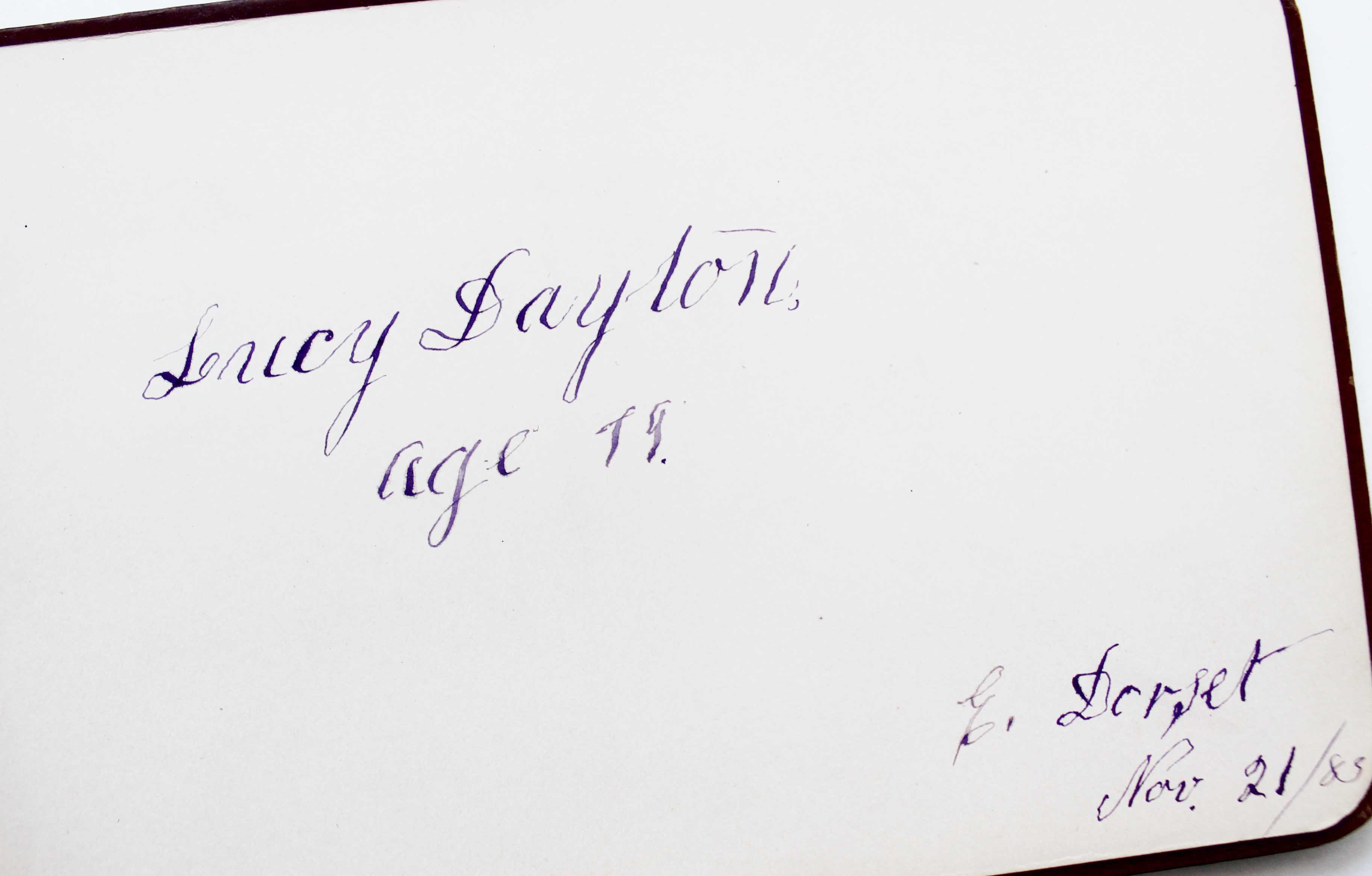 Antique autograph (1)