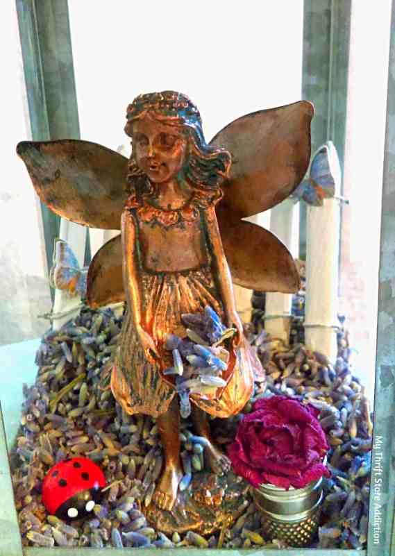 close up lavender fairy lantern Cecilia's