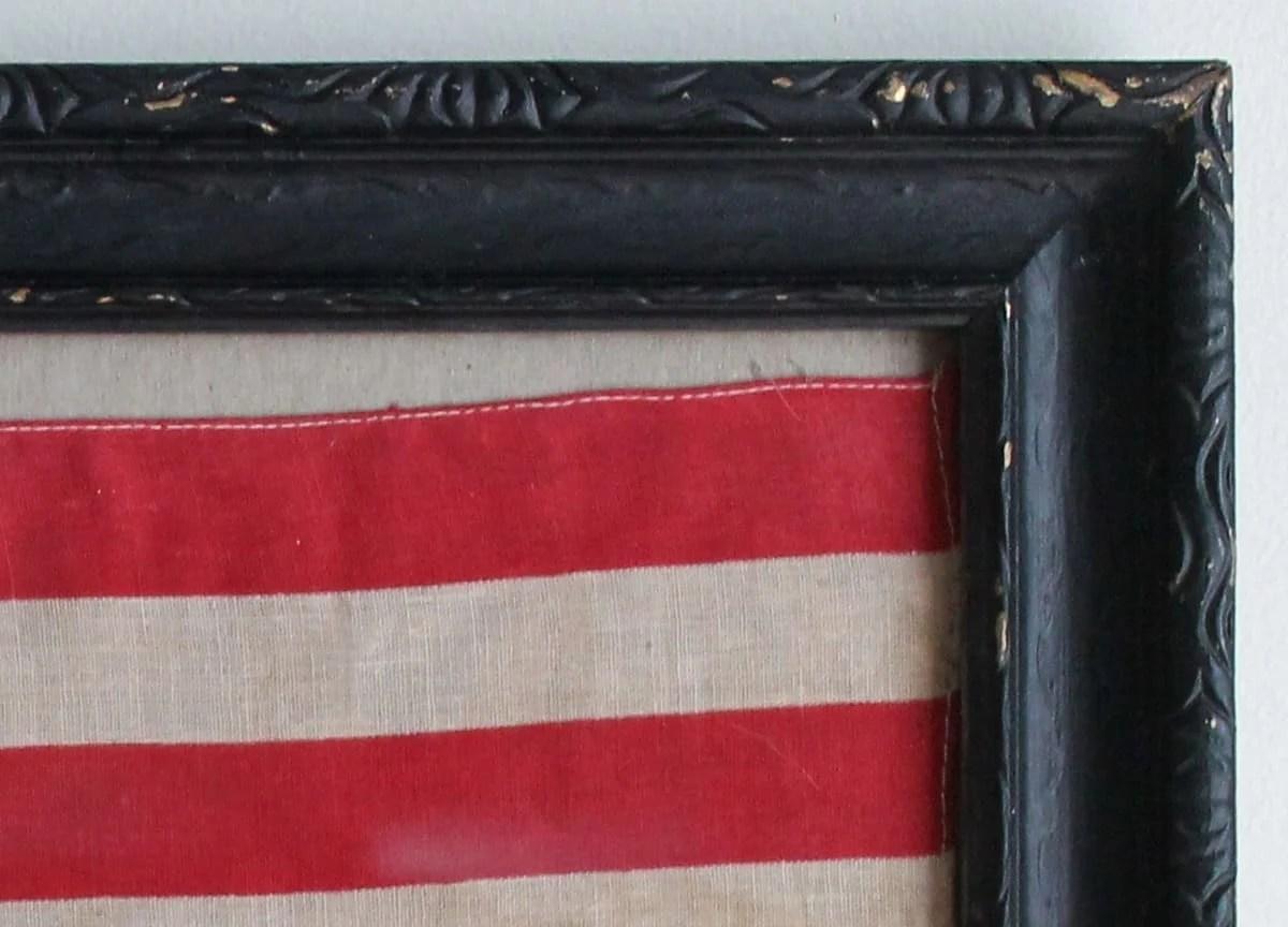 Framed Vintage Flag (2)