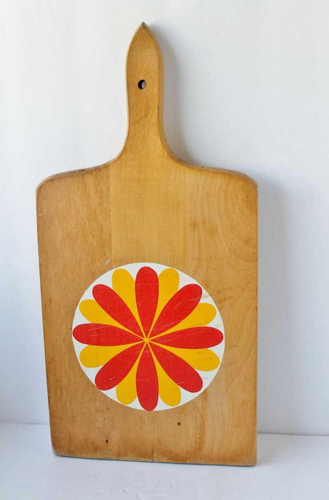Lotus flower MCM cutting board