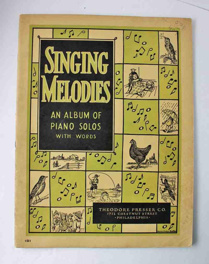 Vintage Music Book