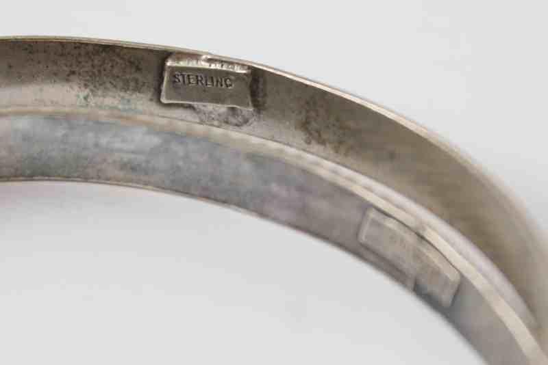 Sterling mark on vintage bracelets