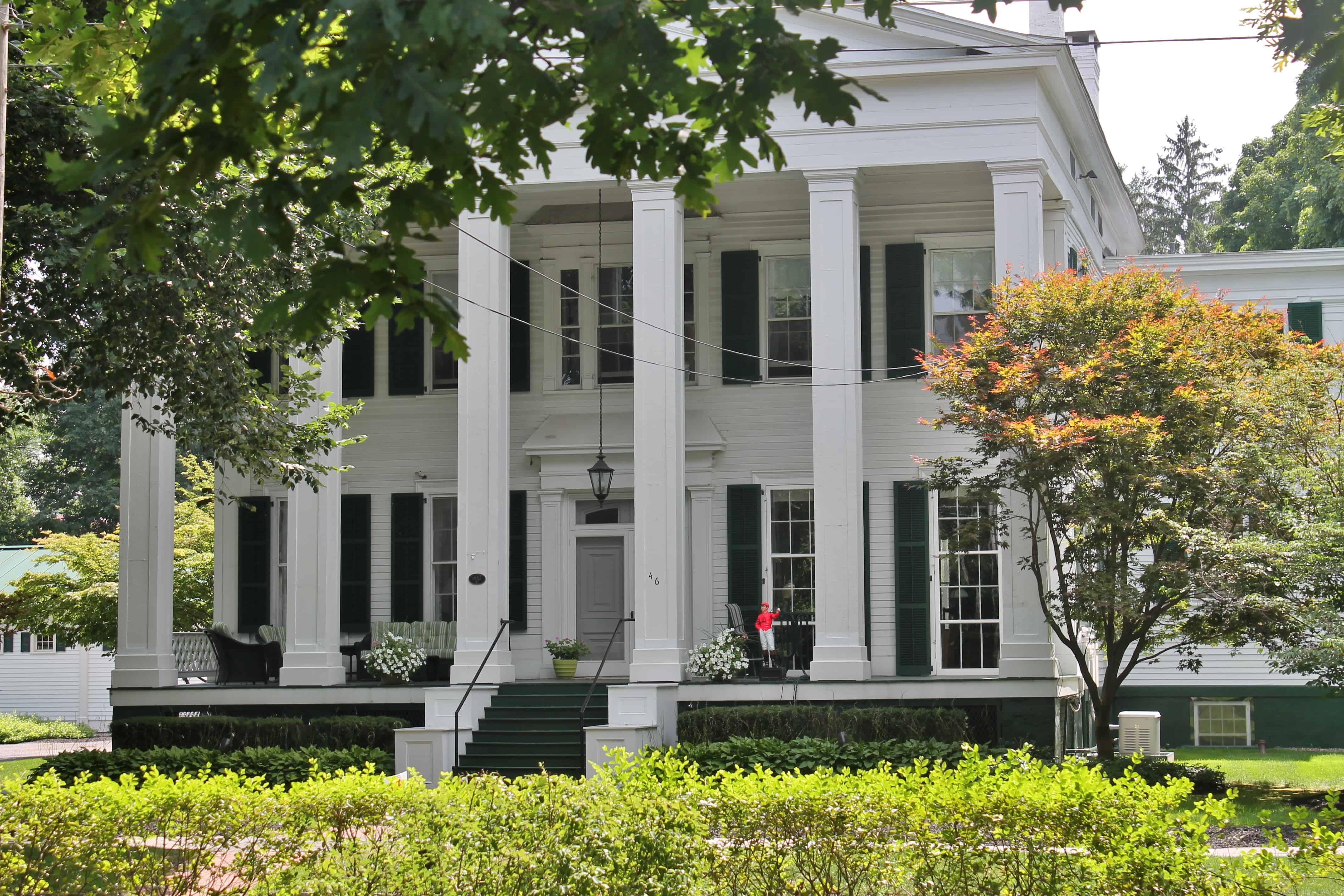 Grand Saratoga home of Dr. Clark