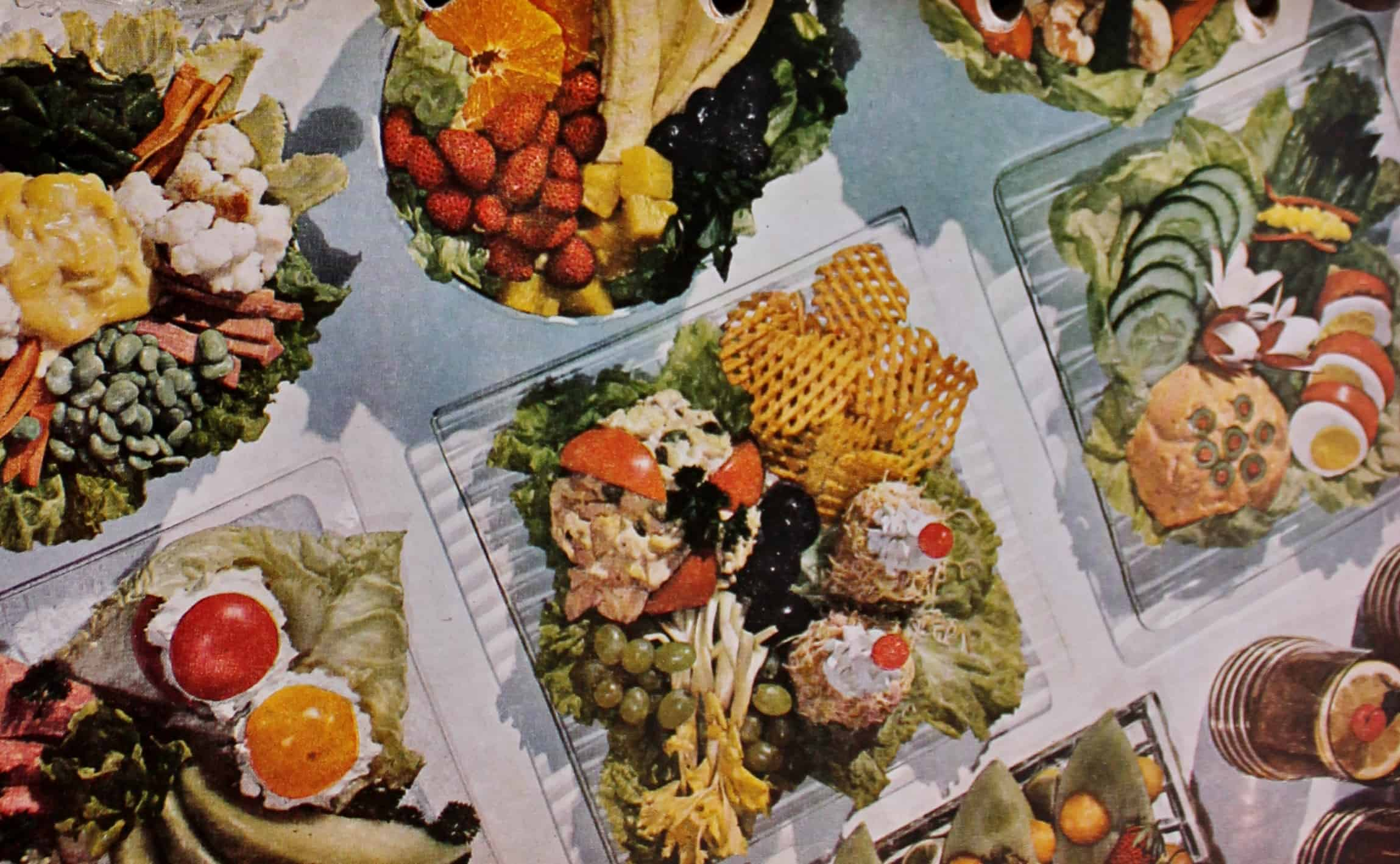 Cookbook photo of appetizers