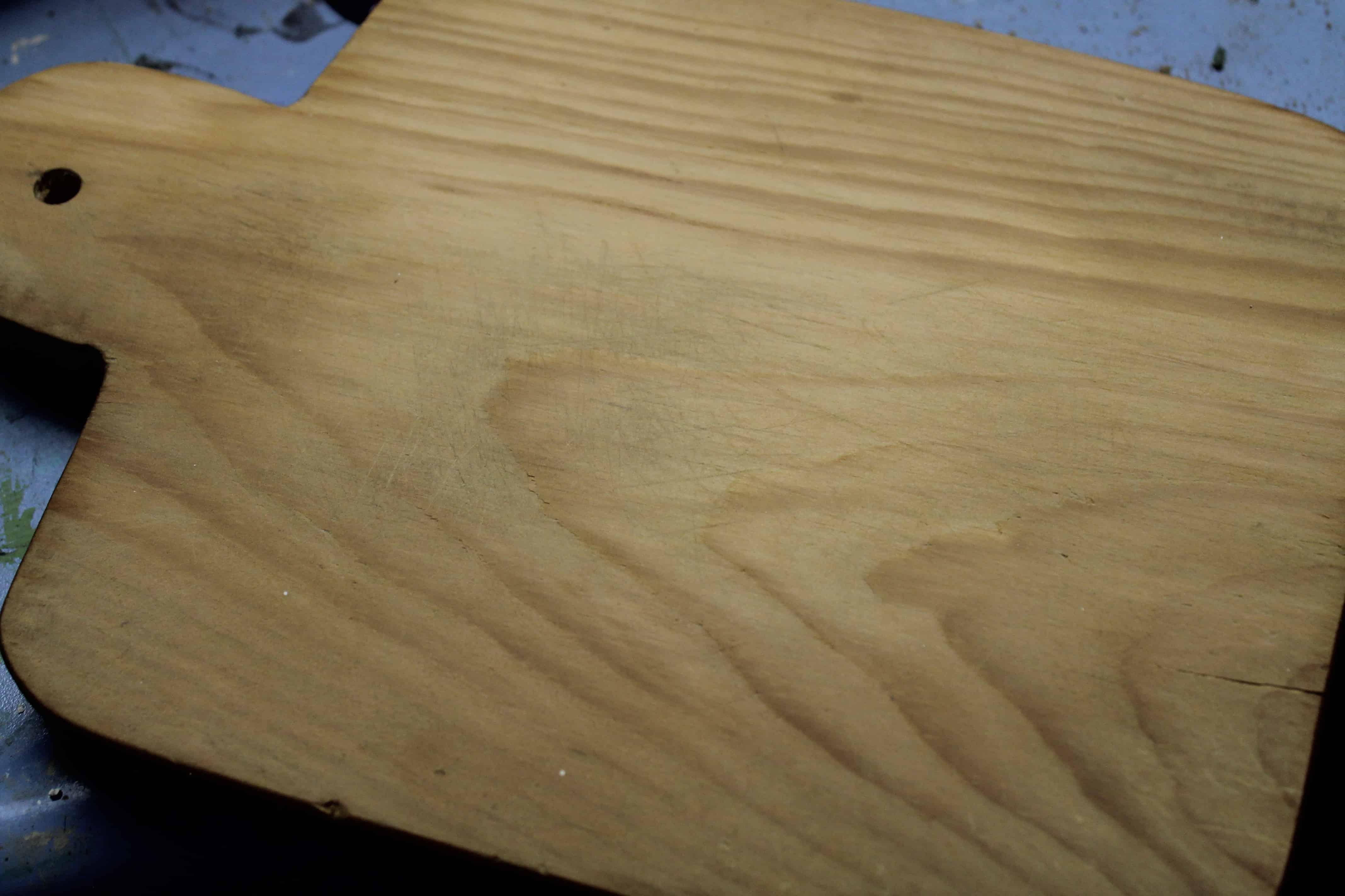 Bread board after sanding (2)