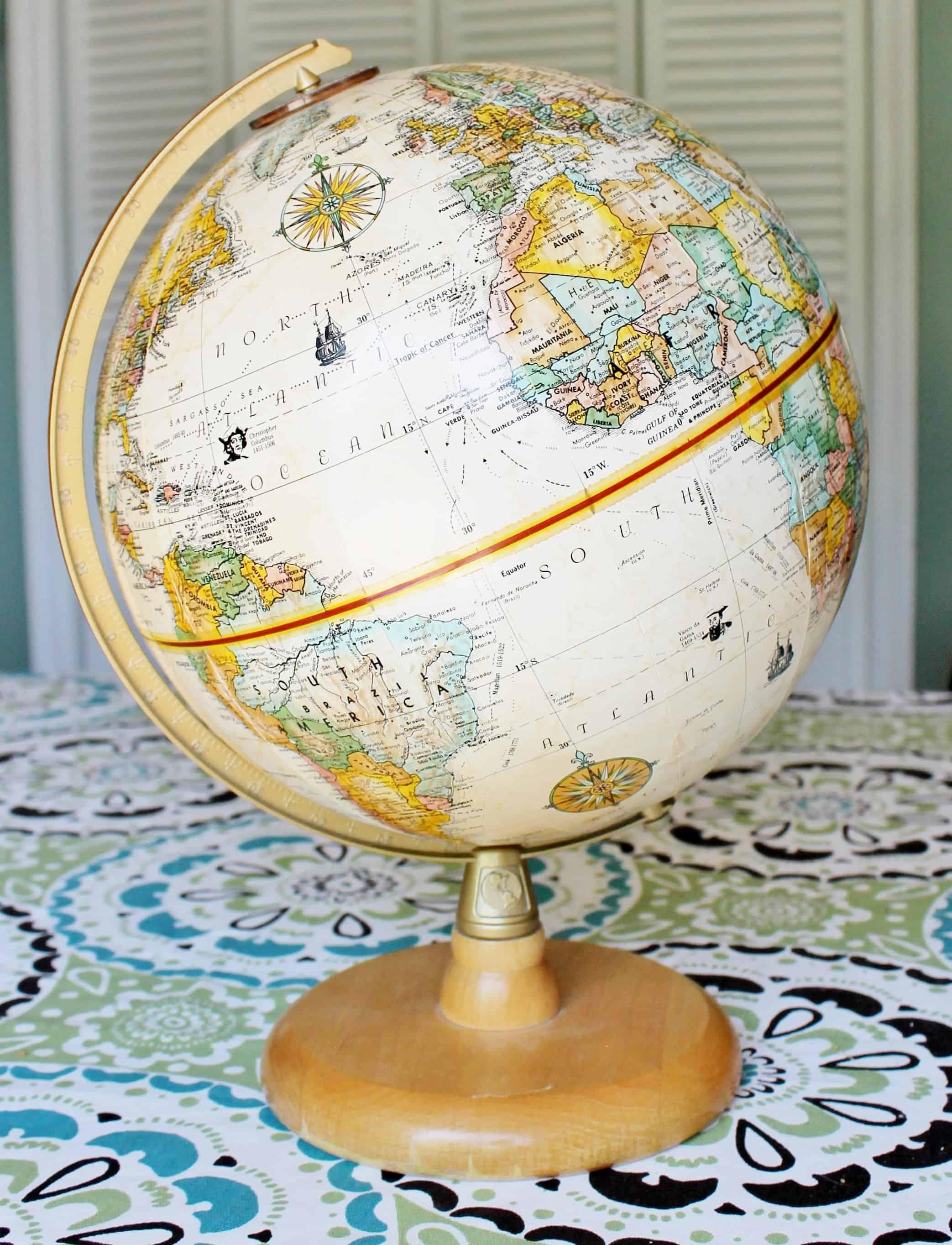 Repogle globe white globe