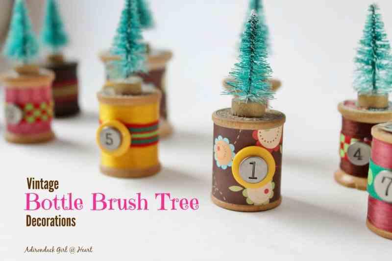 vintage-bottle-brush-tree-decorations-adirondackgirlatheart.com