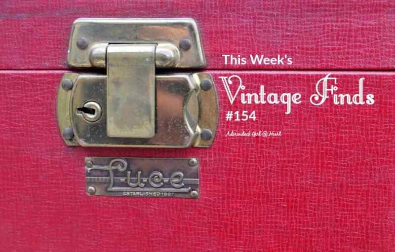Vintage Luce Train Case