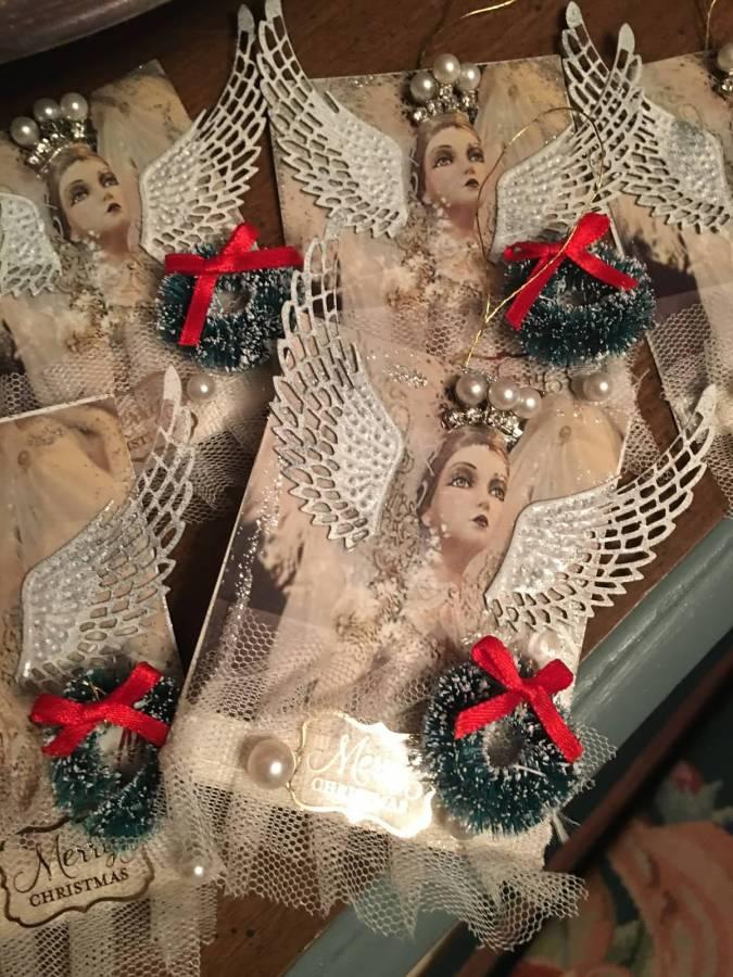 Christmas Angel Tags