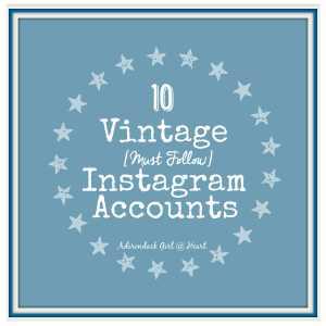 10 Vintage [Must Follow] Instagram Accounts