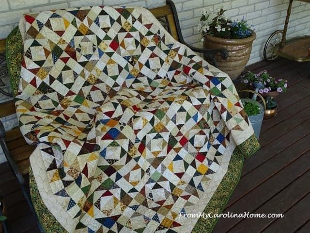 Beautiful vintage quilt