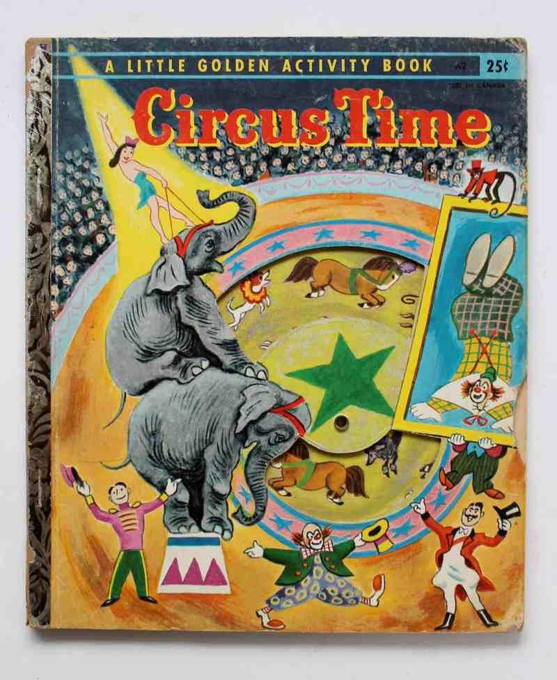 Cicus Time little golden book