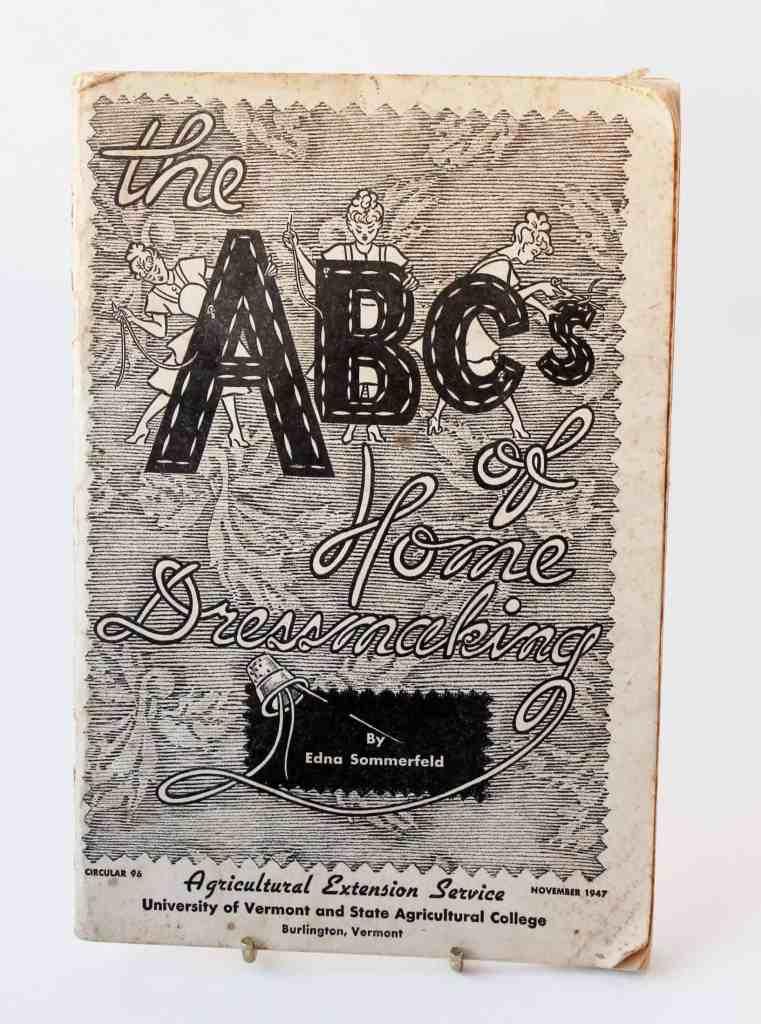 vintage find: sewing pamphlet