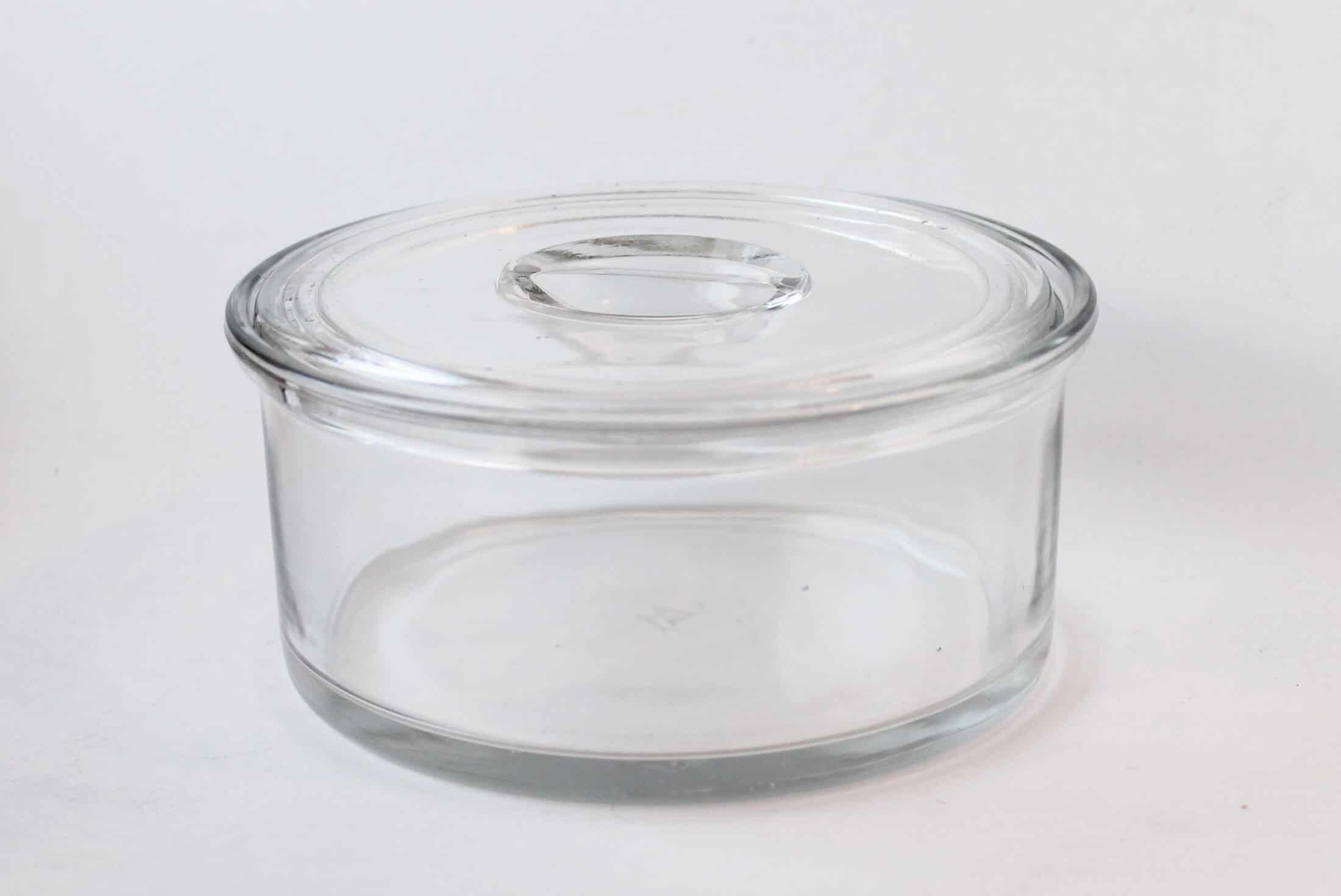 vintage find: glass hazel atlas storage jar