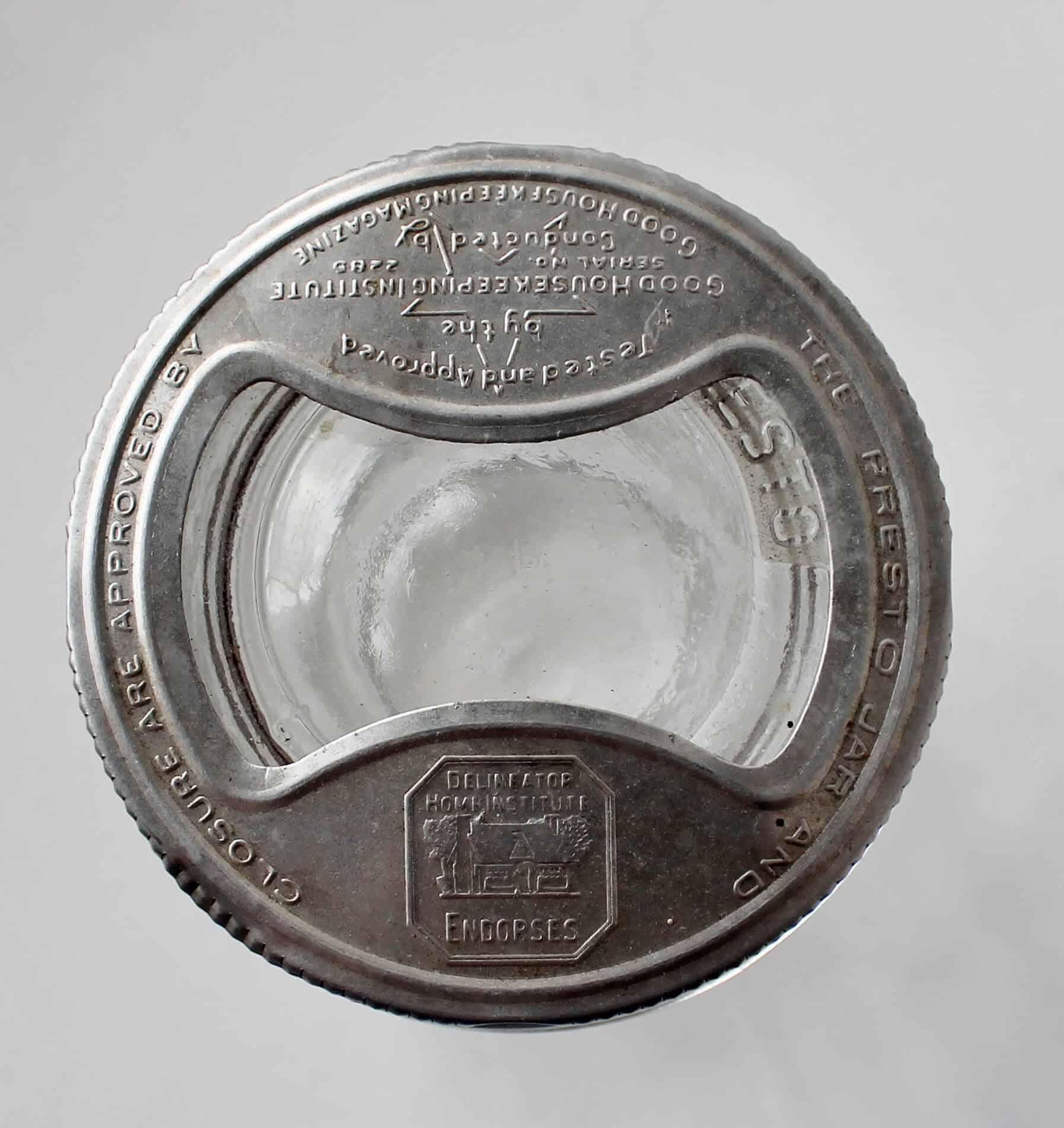 vintage presto canning jar lid
