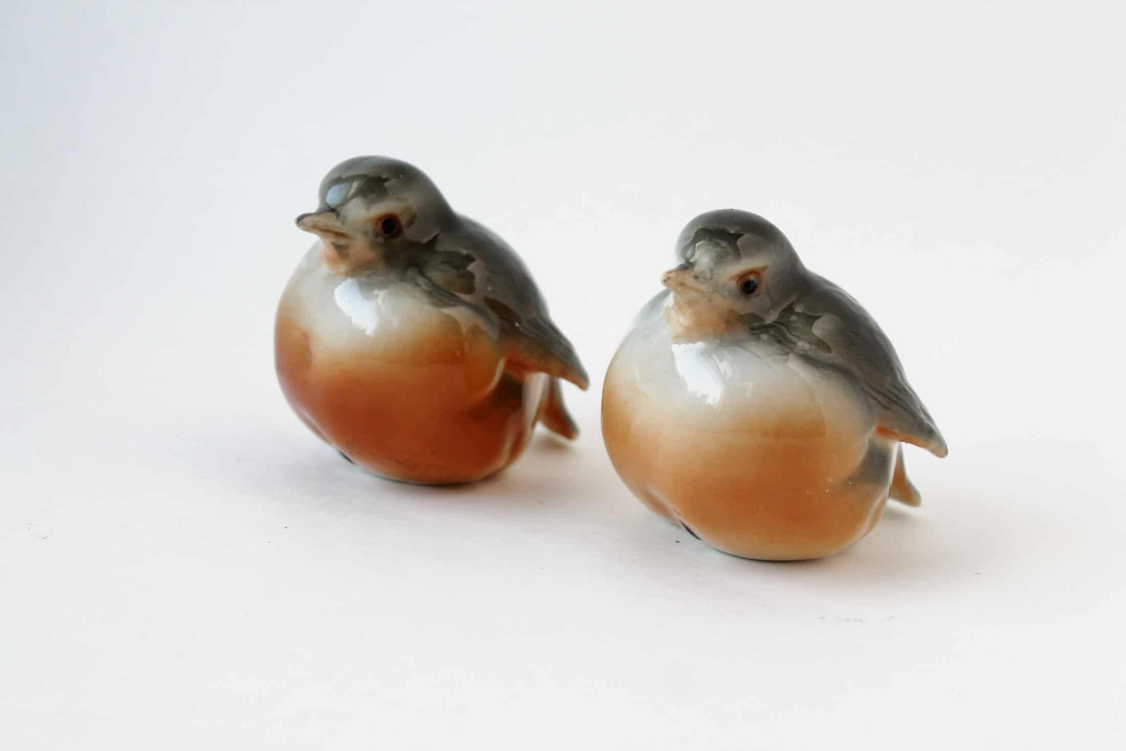 ceramic robins