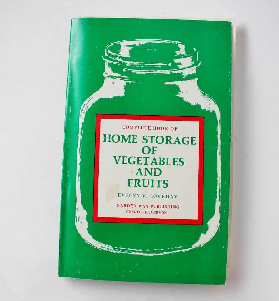 Home Storage of Vegetables and Fruits
