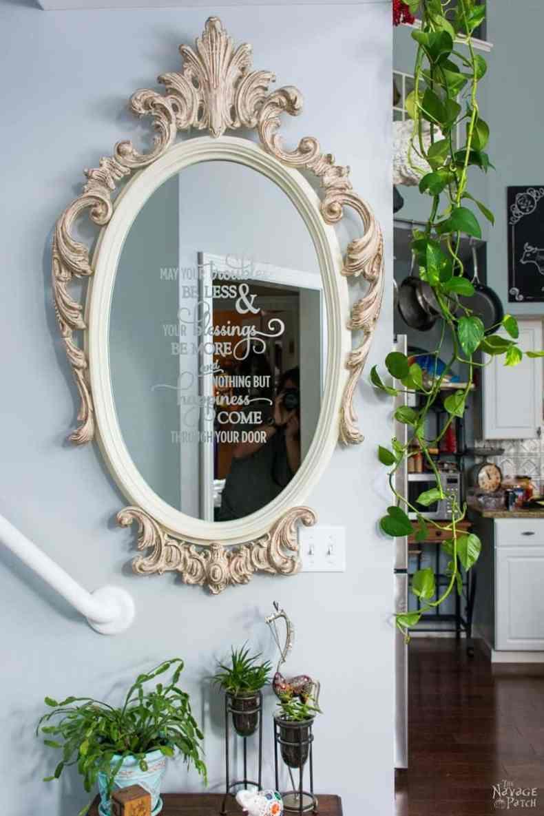 Ornate Mirror Makeover