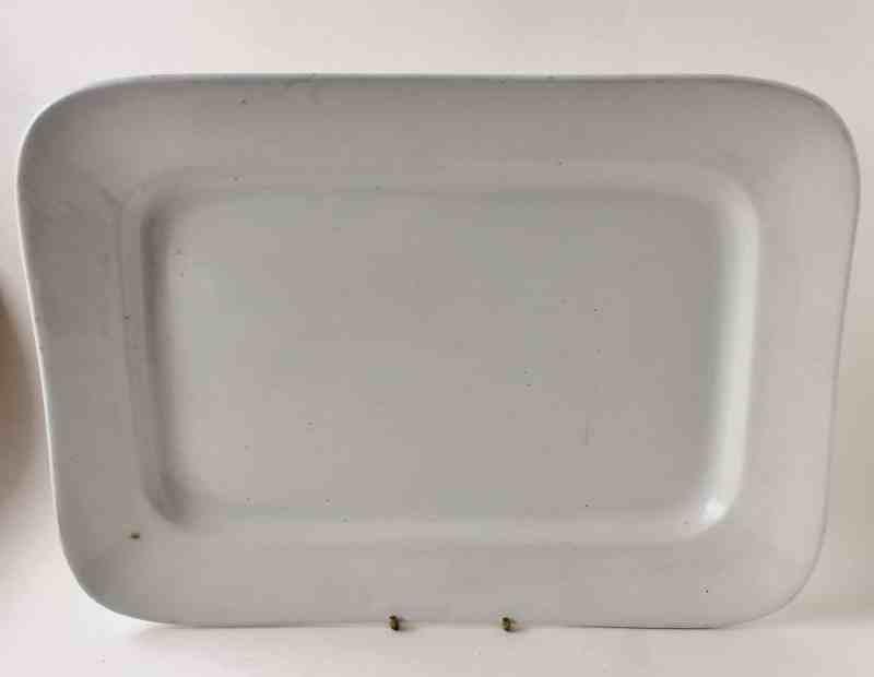 antique maddock ironstone square platter