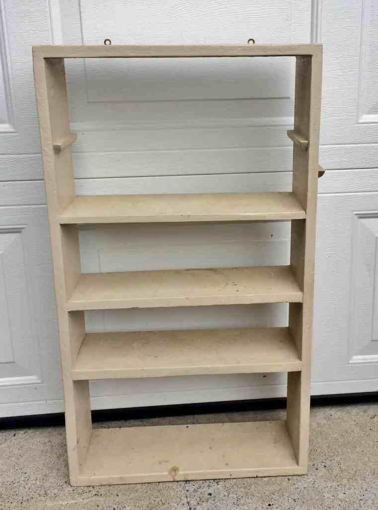small vintage shelf