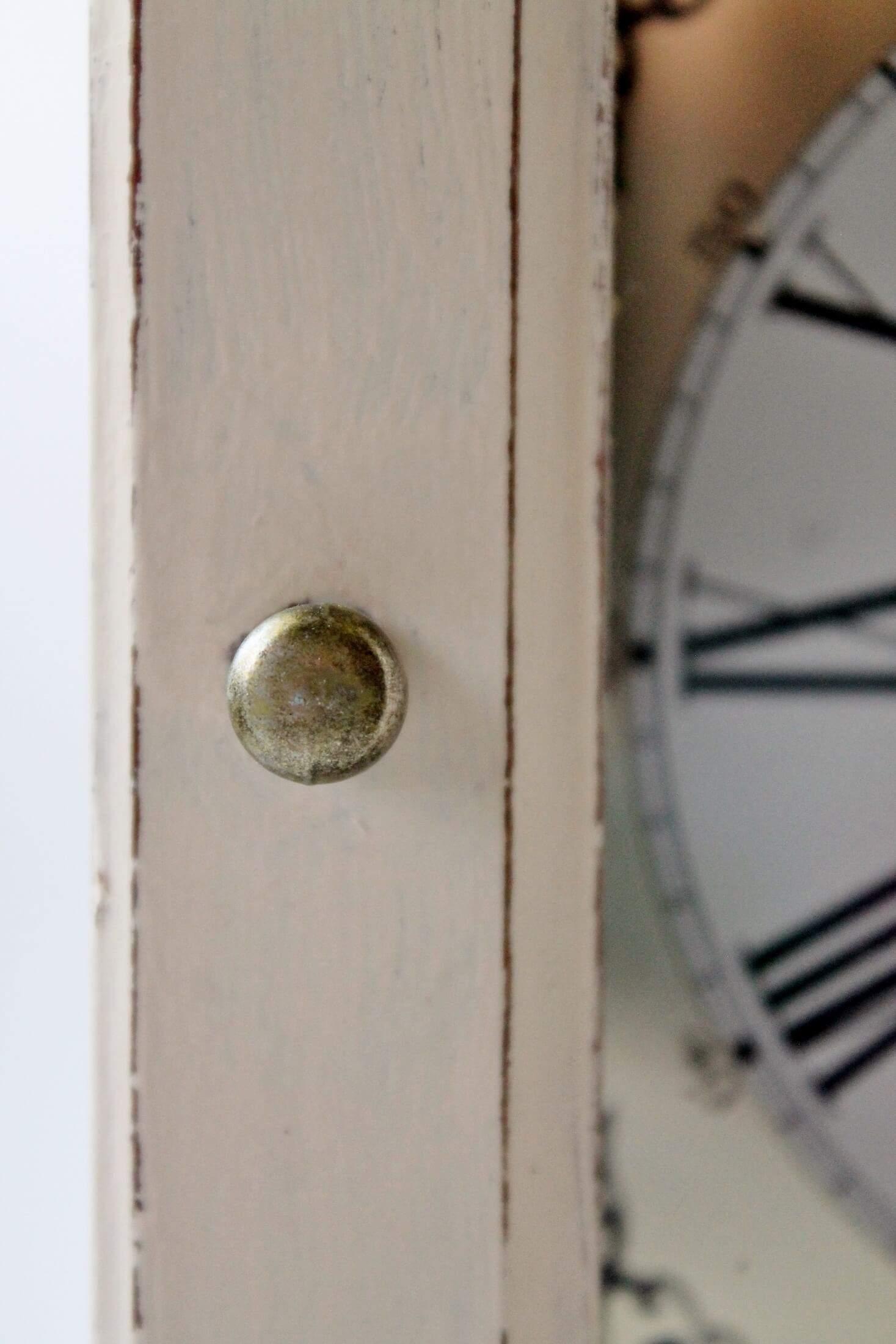 carriage clock door knob