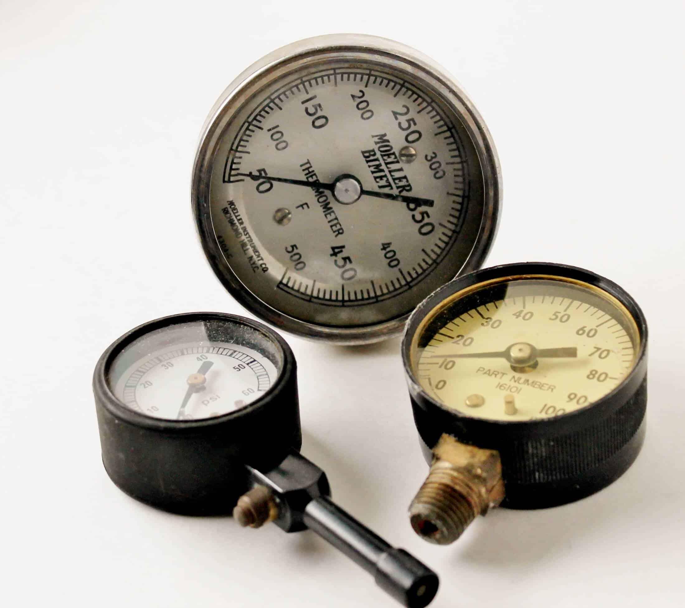 vintage gauges