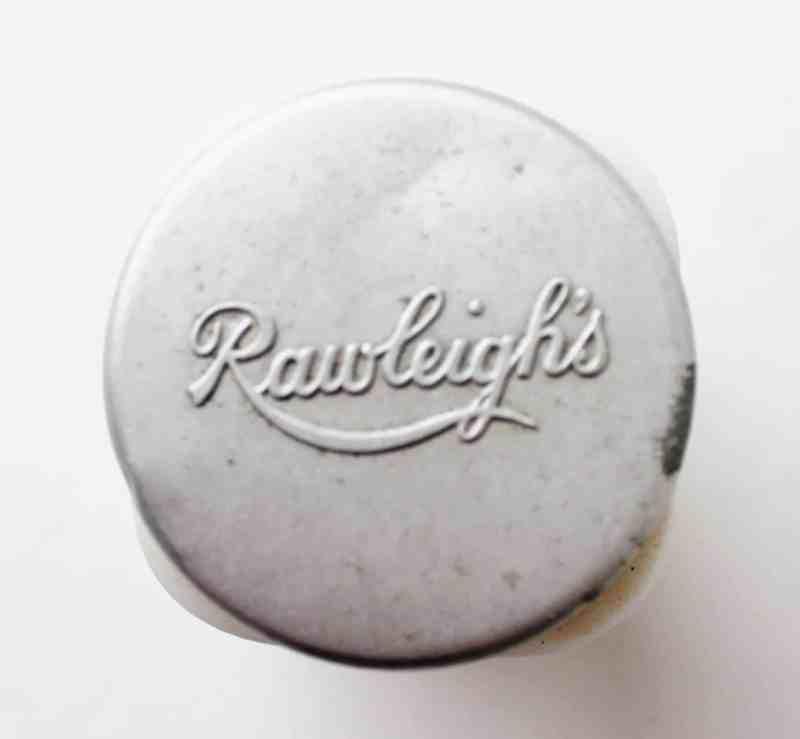 Vintage Rawleigh's lid