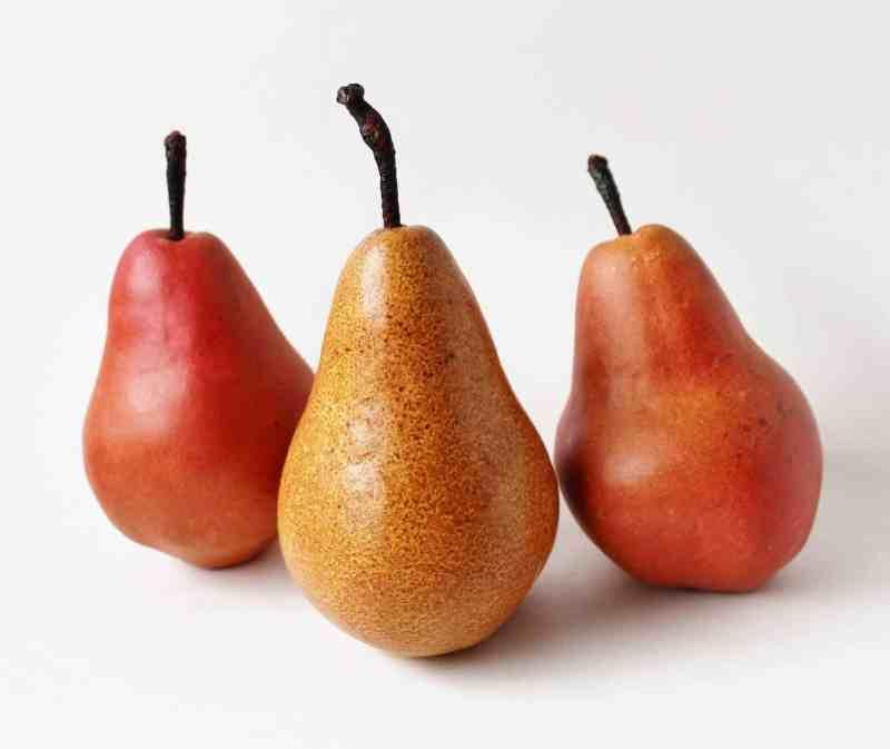vintage stone pears