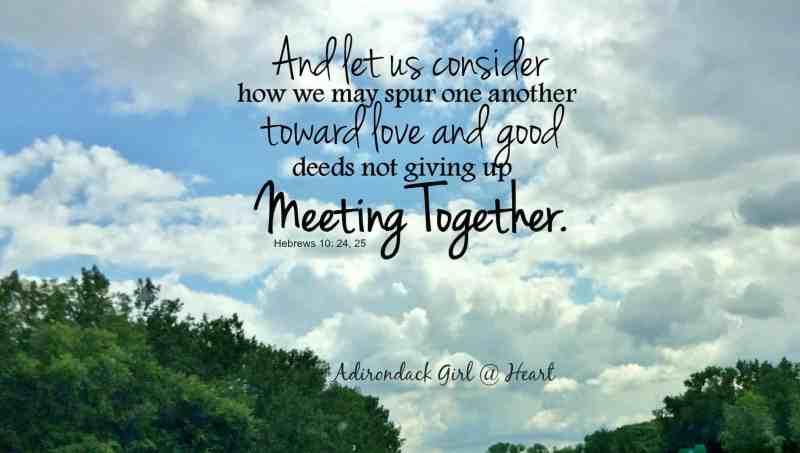 Fellowship Hebrews 10:24, 25