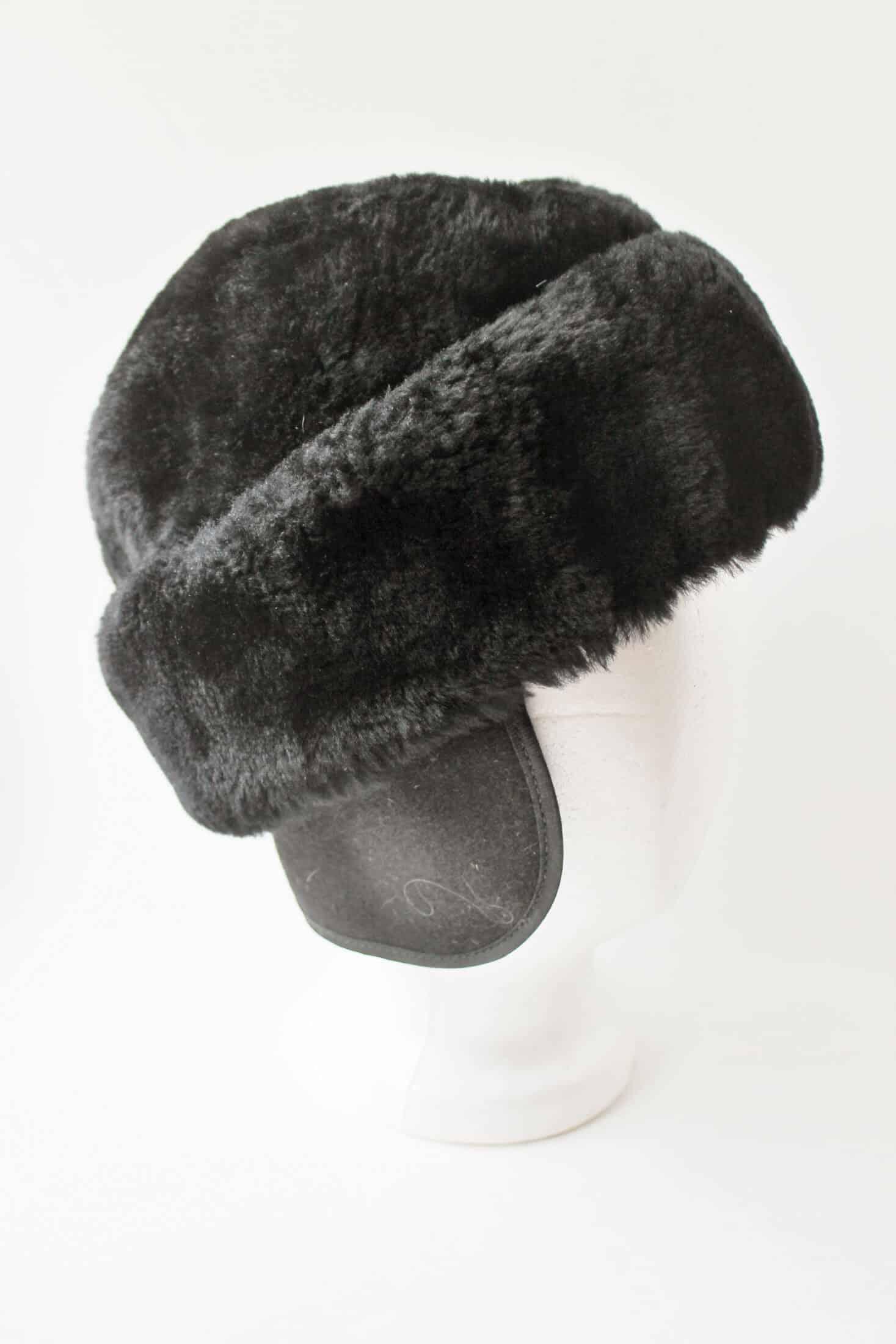 vintage men's winter hat
