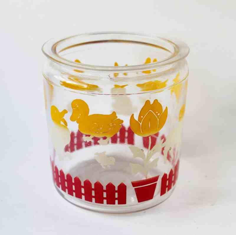 vintage hazel atlas cookie jar