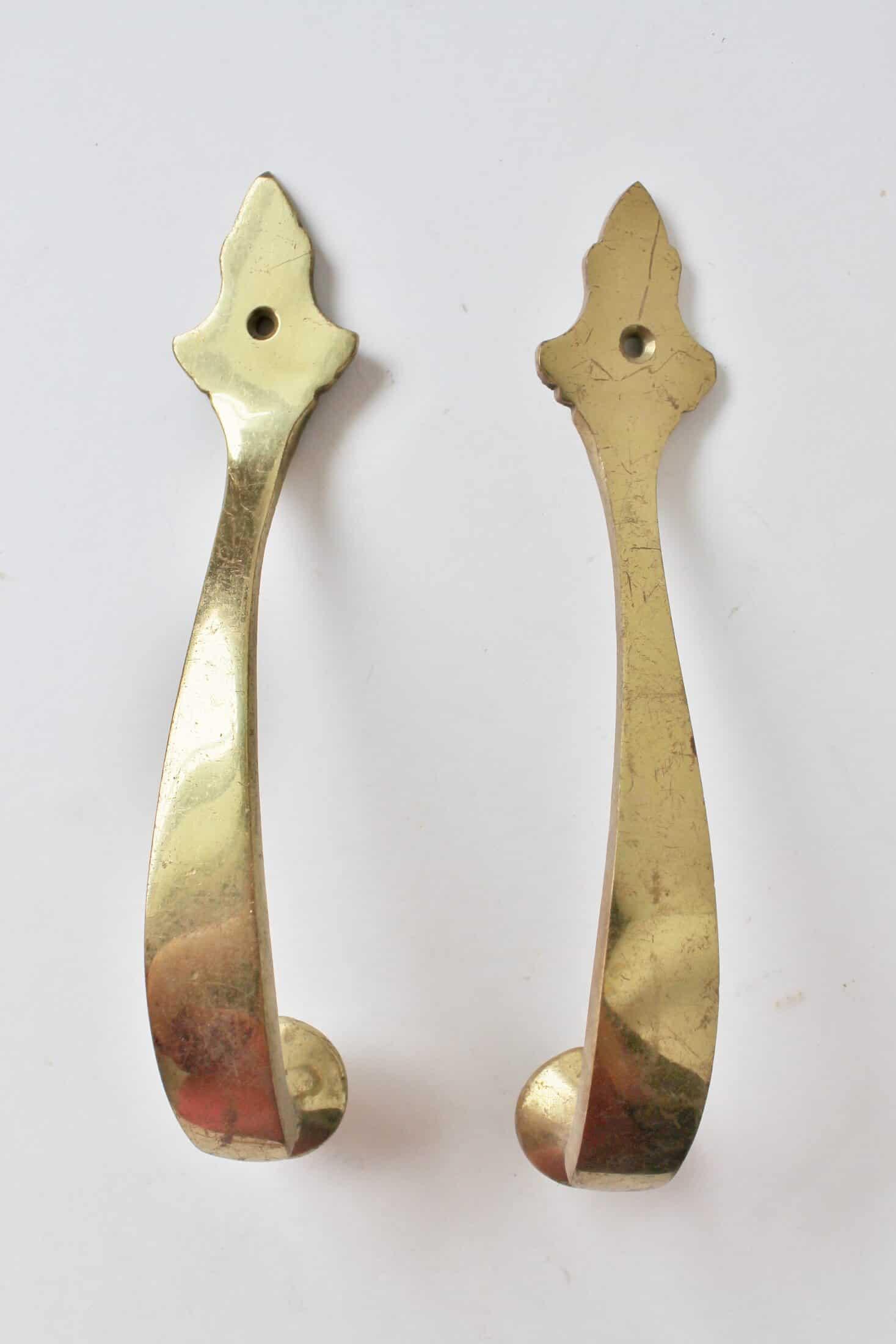 brass door pulls