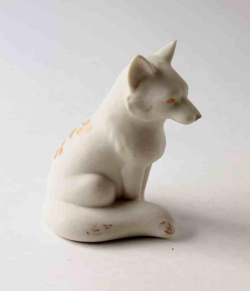 lenox wolf figurine